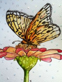 Watercolor cards by Kris