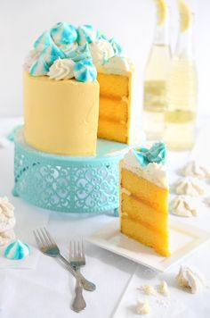 Lemon Meltaway Cake | Sprinkle Bakes