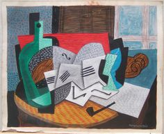 Louis Marcoussis Still life