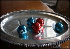 """Make New Ornaments Look """"Vintage"""" - Finding Home"""