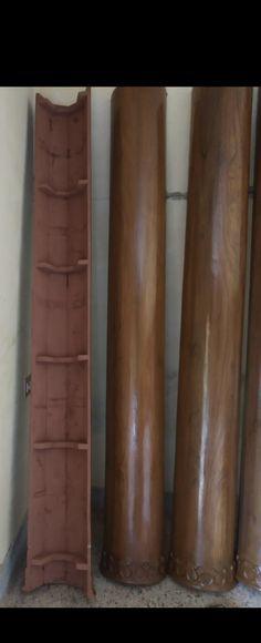 Indian Room Decor, Wooden Pillars