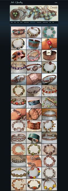 Art-Z Jewelry - Wire Work Bracelets (pictures - page 1) - Do It Darling