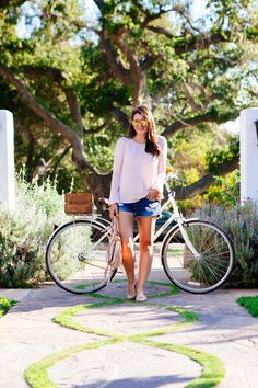 Bell Sleeves and Bicycles | Kendi Everyday