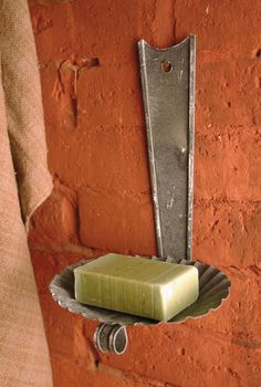 Our Hanging Tin Soap Dish is remarkably aged and measures wide by high by deep. Vintage Country, Country Decor, Soap Holder, Fresh And Clean, Diy Wreath, Home And Living, Cleaning, Antiques, Soap Dishes