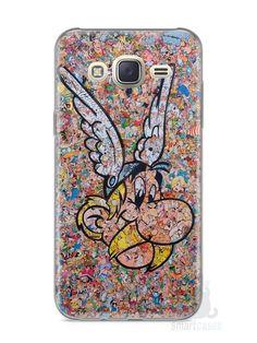 Capa Capinha Samsung J7 Astérix Comic Books - SmartCases - Acessórios para celulares e tablets :)