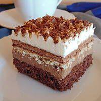Monte Kolac ne pece se No Bake Chocolate Tiramisu, Tiramisu Cake, How To Make Tiramisu, Slovenian Food, Cake Illustration, Tres Leches Cake, Pumpkin Butter, Cream Of Chicken Soup, Food Cakes