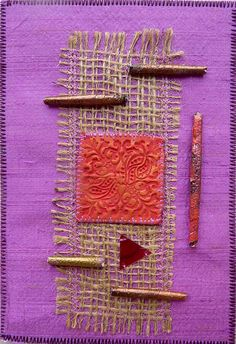 Fabric postcard | Flickr - Photo Sharing!