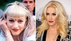 Gwen-Stefani-Nose-Job-Before-and-After-Photo ; I saw Gwen last night at Emmy'… Gwen-Stefani-Nose-Job-Before-and-After-Photo ; I saw Gwen last night at Emmy's 2014 & didn't recognize her :/ her face ……. Gwen Stefani, Celebrities Before And After, Celebrities Then And Now, Bad Plastic Surgeries, Alena Shishkova, Lose Cellulite, Implant, Nose Surgery, Celebrity Plastic Surgery