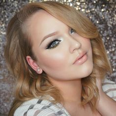 Another possible look for my wedding - from nikkietutorials Grammy inspired look
