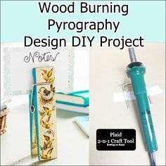 Wood Burning Pyrography Design DIY Project  Homesteading  - The Homestead Survival .Com