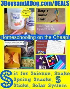 Homeschooling on the Cheap, great stuff this week!
