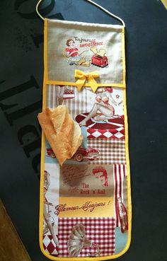 sac à pain vintage