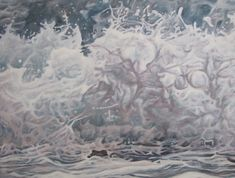 Mandy Lake, Soft splash, oil on canvas, 2014 Lake Painting, Oil On Canvas, Paintings, Gallery, Outdoor, Art, Outdoors, Art Background, Paint