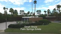 Aerial View of the Dinah Shore Palm Springs Estate now owned by Leonardo DiCaprio Palm Springs Mid Century Modern, Coachella Valley, Leonardo Dicaprio, Aerial View, Midcentury Modern, Modern Architecture, Modern Contemporary, Interior And Exterior, Bucket