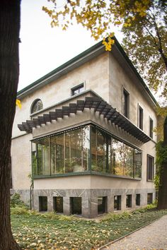 Villa Necchi Campiglio, Architect Piero Portaluppi, 1935, Milano
