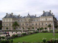 Jardin du Luxembourg : Palais du Luxembourg.
