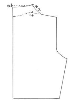 Añadir leyenda Cuello chimenea o cuello alzado. Delantero Cuello chimenea o cuello alzado. Espalda