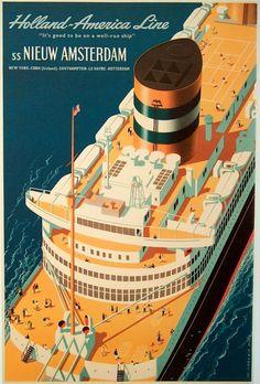 Cruise ship #Travel Poster