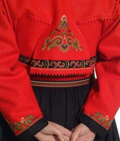 Bilderesultat for østtelemark jakke Folk Costume, Costumes, Bridal Crown, Color Shapes, World Cultures, Doll Patterns, Traditional Outfits, Mittens, Vintage Photos