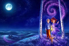 StarSpun Print Fantasy Fine Art Nursery Children's