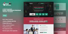 Download Conference Event Program Landing Page UI Nulled Latest Version