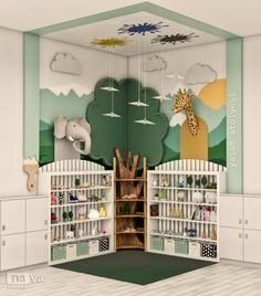 Playroom Design, Room Design Bedroom, Kids Room Design, Kids Bedroom, Kids Church Decor, Kindergarten Interior, Kids Play Spaces, Kids Indoor Playground, Kids Room Paint