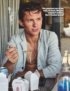 Tom Holland for GQ UK Magazine