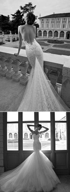 Mermaid wedding dress   bodatotal.com   vestido de novia corte sirena, wedding…