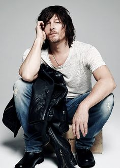 reedusnorman-deactivated2015070: Norman Reedus photographed by Michael Williams for Imagista