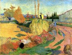 Farmhouse in Arles by Paul Gauguin