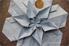 ORIGAMI-TIME.: Origami Tessellation No. 991