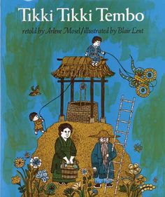 50 books every parent should read to their kids.  I'm pleased to have read, or have had read to me, so many on this list and that Tikki Tikki Tembo made the cut!!