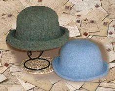 Fulled Hat Free Knitting Pattern