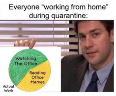 24 Memes For Anyone Pretending To Work From Home Today. | Someecards Memes Successful Home Business, Work From Home Business, Work From Home Tips, Crazy Funny Memes, Wtf Funny, Crazy Humor, Working From Home Meme, Home Song, Even When It Hurts