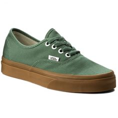 8f7176cddb8 Πάνινα παπούτσια VANS - Authentic VA38EMQ9V Duck Green/Gum