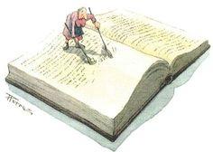 Balai de livres - Bibliophagie    No idea what that means but love the picture