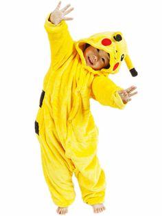 PC Kids Costume Fancy Dress Cosplay Onsie10 Child Unisex Hooded Animal Pajamas