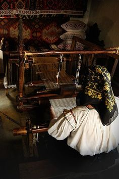 Traditional home-weaving: carpets, cloth, etc. The Older I Get, My Heritage, Traditional House, My Beauty, Crafting Tools, Costumes, Cool Stuff, Country, Homeland