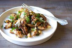 One Pan Chicken + Cauliflower Hash   Real Food Healthy Body
