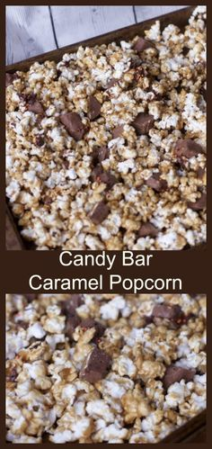Caramel Popcorn. Mak