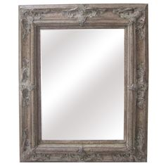 Antique Wood Traditional Rectangular 30-inch Wall Mirror - Overstock™ Shopping - Great Deals on Mirrors