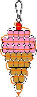 pony bead patterns - Google Search More