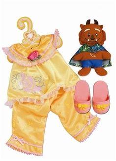 my first disney princess doll: belle sleepwear outfit