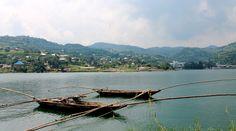 Lake Kivu Fischerboote