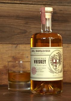 "St. George single malt Whiskey www.LiquorList.com ""The Marketplace for Adults with Taste!"" @LiquorListcom   #LiquorList"