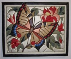 Framed Wooden Letters, Wooden Wall Art, Wood Art, Butterfly Quilt Pattern, Disney Stained Glass, Polymer Clay Painting, Quilted Christmas Ornaments, Glass Painting Designs, Intarsia Patterns