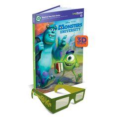 LeapReader 3D Book: Disney·Pixar Monsters University Only $5 (Reg $12.99)   SassyDealz.com