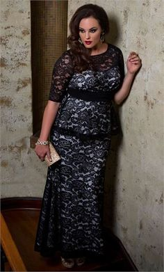 f42398138ed fullbeauty Official Site - Shop Plus Size Clothing Peplum Gown