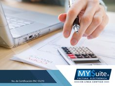 COMPROBANTE FISCAL DIGITAL. La facturación electrónica evoluciona constantemente bajo los lineamientos emitidos por el SAT, para el beneficio de los usuarios. Si las empresas no se actualizan, pueden quedarse atrás. En MYSuite estamos siempre a la vanguardia en todos los cambios que se realizan en los esquemas fiscales, para brindarles a nuestros clientes tranquilidad y certeza en sus trámites. Le invitamos a visitar nuestra página en internet http://www.mysuitemex.com/, para conocer más…