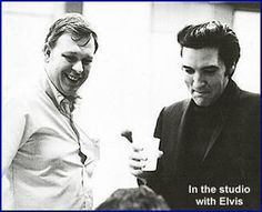 """That's noted session guitar ace Billy Strange shown with Elvis here, supplying the cool riffs on """"Viva Las Vegas,"""" not Glen Campbell as claimed by numerous """"official"""" accounts and even the artist's own publicity materials supplied to journalists. Independent Elvis session experts Joseph Tunzi and Keith Flynn confirm Jorgensen's findings."""